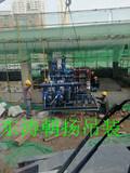 北京起重吊装搬运公司门头沟检察院板换机组吊装人工平移机房就位