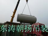 北京起重搬运公司海淀锅炉吊装卸车人工搬运锅炉房就位