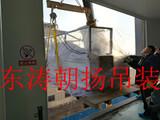 北京起重吊装公司大兴医药基地制药设备楼层吊装人工搬运车间就位