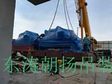 北京起重吊装搬运廊坊冷水机组吊装下坑人工搬运基础就位