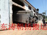 北京起重搬运昌平燃煤旧锅炉人工滚杠移除锅炉房